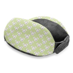 Easter Bunny Travel Neck Pillow (Personalized)