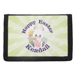 Easter Bunny Trifold Wallet (Personalized)
