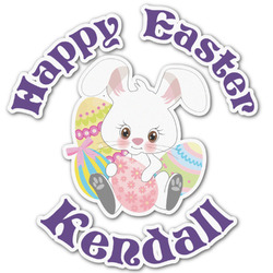 Easter Bunny Graphic Decal - Custom Sizes (Personalized)