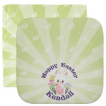 Easter Bunny Facecloth / Wash Cloth (Personalized)