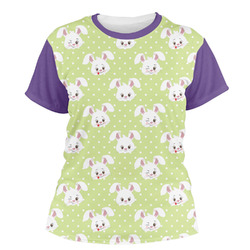 Easter Bunny Women's Crew T-Shirt (Personalized)