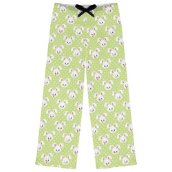 Easter Bunny Womens Pajama Pants (Personalized)