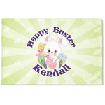 Easter Bunny Woven Mat (Personalized)