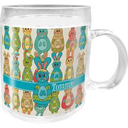 Fun Easter Bunnies Acrylic Kids Mug (Personalized)