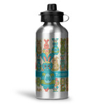 Fun Easter Bunnies Water Bottle - Aluminum - 20 oz (Personalized)