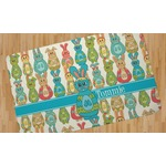 Fun Easter Bunnies Area Rug (Personalized)