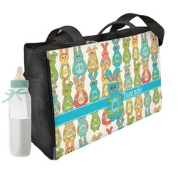 Fun Easter Bunnies Diaper Bag (Personalized)