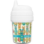 Fun Easter Bunnies Baby Sippy Cup (Personalized)