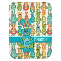 Fun Easter Bunnies Baby Swaddling Blanket (Personalized)