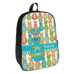 Fun Easter Bunnies Kids Backpack (Personalized)