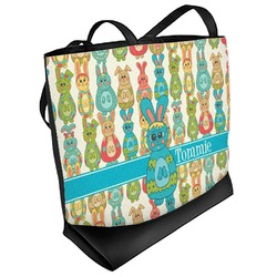 Fun Easter Bunnies Beach Tote Bag (Personalized)