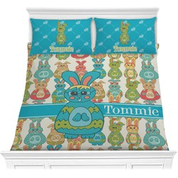Fun Easter Bunnies Comforters (Personalized)