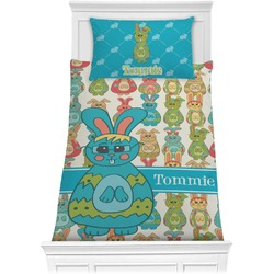 Fun Easter Bunnies Comforter Set - Twin (Personalized)