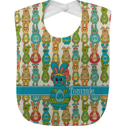 Fun Easter Bunnies Baby Bib (Personalized)