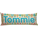 Fun Easter Bunnies Body Pillow Case (Personalized)