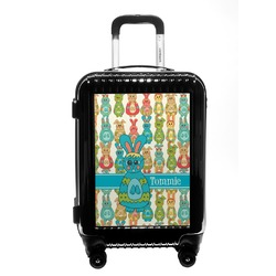 Fun Easter Bunnies Carry On Hard Shell Suitcase (Personalized)