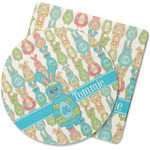 Fun Easter Bunnies Rubber Backed Coaster (Personalized)