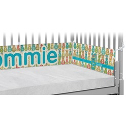 Fun Easter Bunnies Crib Bumper Pads (Personalized)