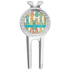 Fun Easter Bunnies Golf Divot Tool & Ball Marker (Personalized)