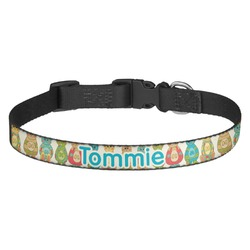 Fun Easter Bunnies Dog Collar - Medium (Personalized)
