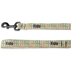 Fun Easter Bunnies Deluxe Dog Leash (Personalized)