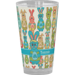 Fun Easter Bunnies Drinking / Pint Glass (Personalized)