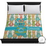 Fun Easter Bunnies Duvet Cover (Personalized)