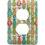 Fun Easter Bunnies Electric Outlet Plate (Personalized)