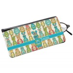 Fun Easter Bunnies Genuine Leather Eyeglass Case (Personalized)