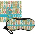 Fun Easter Bunnies Eyeglass Case & Cloth (Personalized)