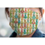 Fun Easter Bunnies Face Mask Cover (Personalized)