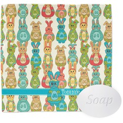 Fun Easter Bunnies Wash Cloth (Personalized)