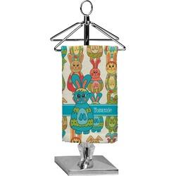 Fun Easter Bunnies Finger Tip Towel - Full Print (Personalized)