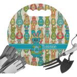 Fun Easter Bunnies Gardening Knee Cushion (Personalized)