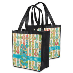 Fun Easter Bunnies Grocery Bag (Personalized)