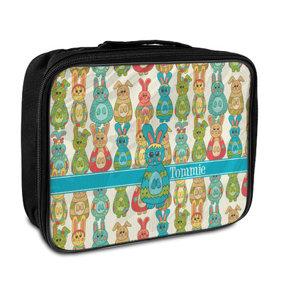 Fun Easter Bunnies Insulated Lunch Bag (Personalized)