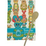 Fun Easter Bunnies Kitchen Towel - Full Print (Personalized)