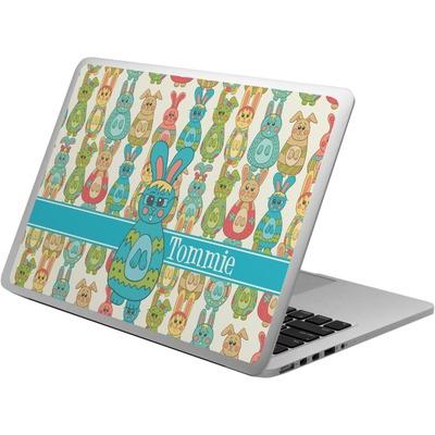 Fun Easter Bunnies Laptop Skin - Custom Sized (Personalized)