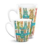 Fun Easter Bunnies Latte Mug (Personalized)