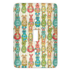 Fun Easter Bunnies Light Switch Covers (Personalized)
