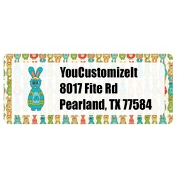 Fun Easter Bunnies Return Address Labels (Personalized)