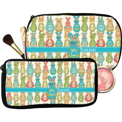 Fun Easter Bunnies Makeup / Cosmetic Bag (Personalized)