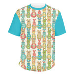 Fun Easter Bunnies Men's Crew T-Shirt (Personalized)