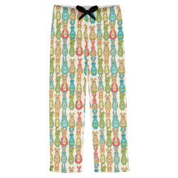 Fun Easter Bunnies Mens Pajama Pants (Personalized)