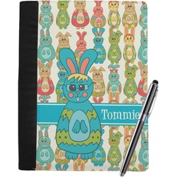Fun Easter Bunnies Notebook Padfolio (Personalized)