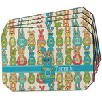 Fun Easter Bunnies Dining Table Mat - Octagon w/ Name or Text