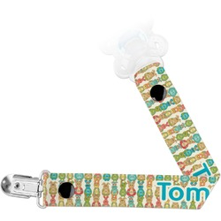 Fun Easter Bunnies Pacifier Clips (Personalized)