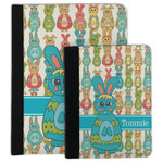 Fun Easter Bunnies Padfolio Clipboard (Personalized)