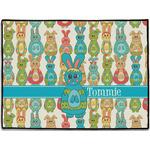 Fun Easter Bunnies Door Mat (Personalized)