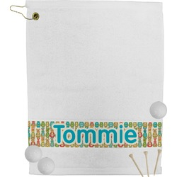 Fun Easter Bunnies Golf Towel (Personalized)